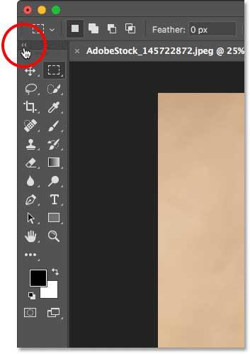 interfaz photoshop herramientas