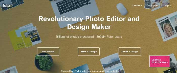 mejor editor de fotos online