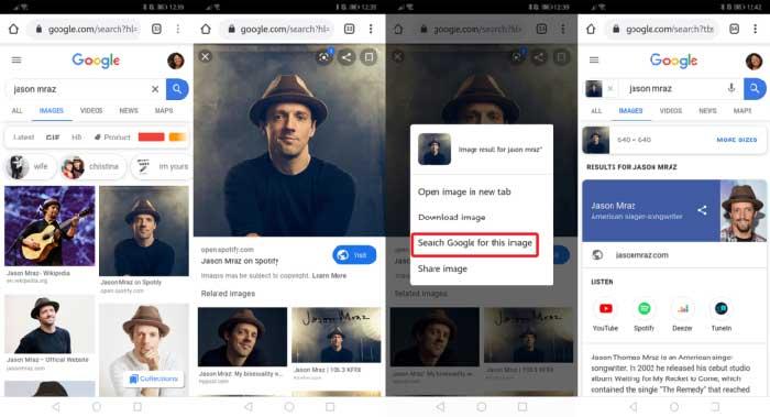 como buscar imagenes con movimiento en google