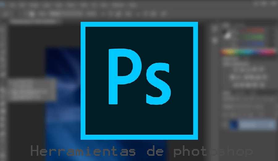 herramientas principales de adobe photoshop